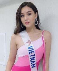 Á hậu Tường San chinh phục giám khảo Miss International 2019 bằng vóc dáng cuốn hút