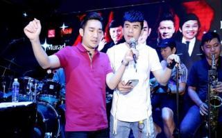 Đan Trường, Lệ Quyên đội mưa đến tập nhạc với Quang Hà